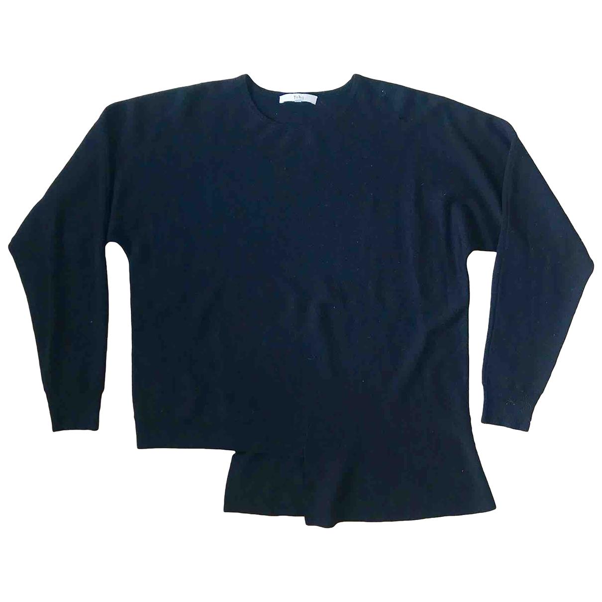 Tibi \N Pullover in  Schwarz Wolle