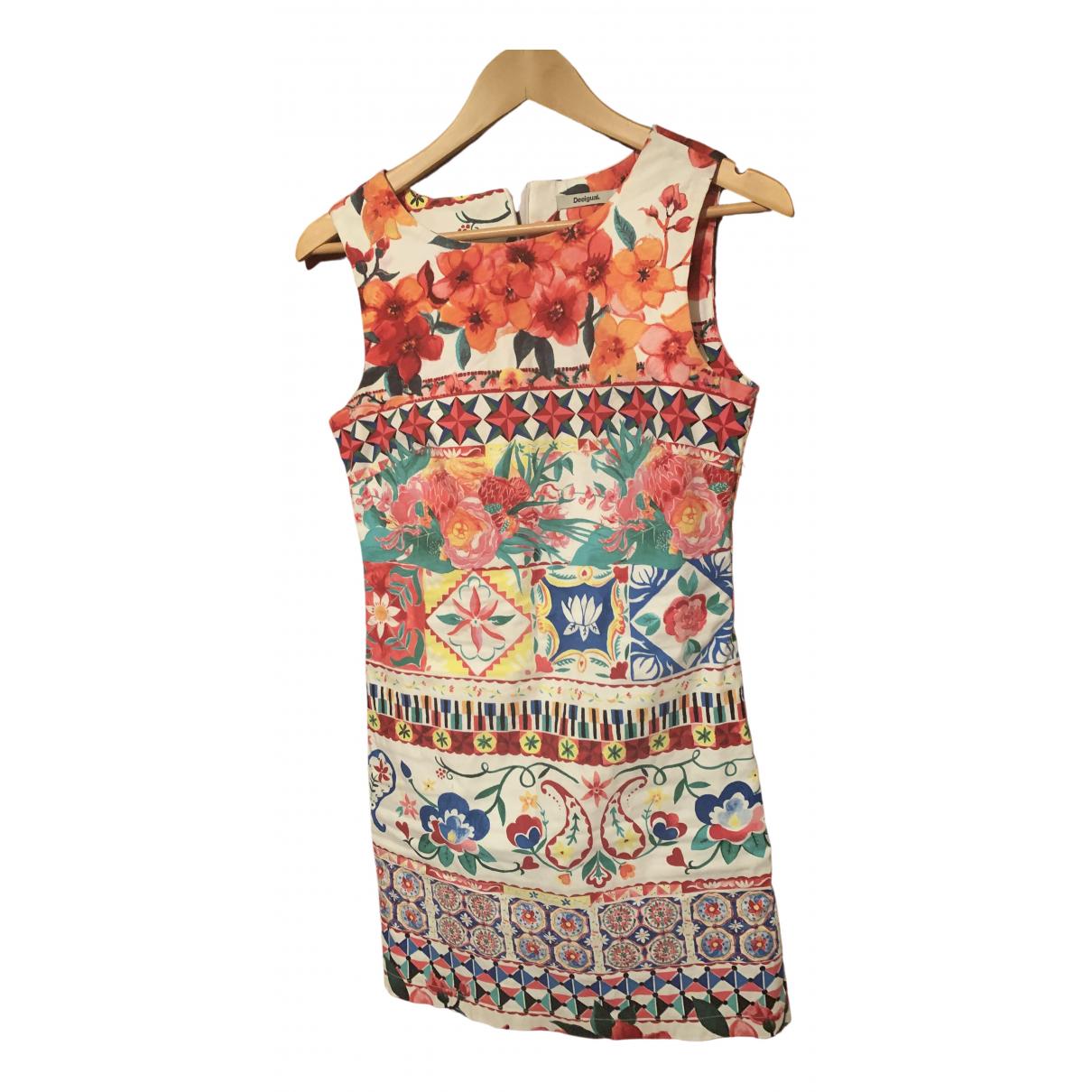 Desigual - Robe   pour femme en coton - multicolore