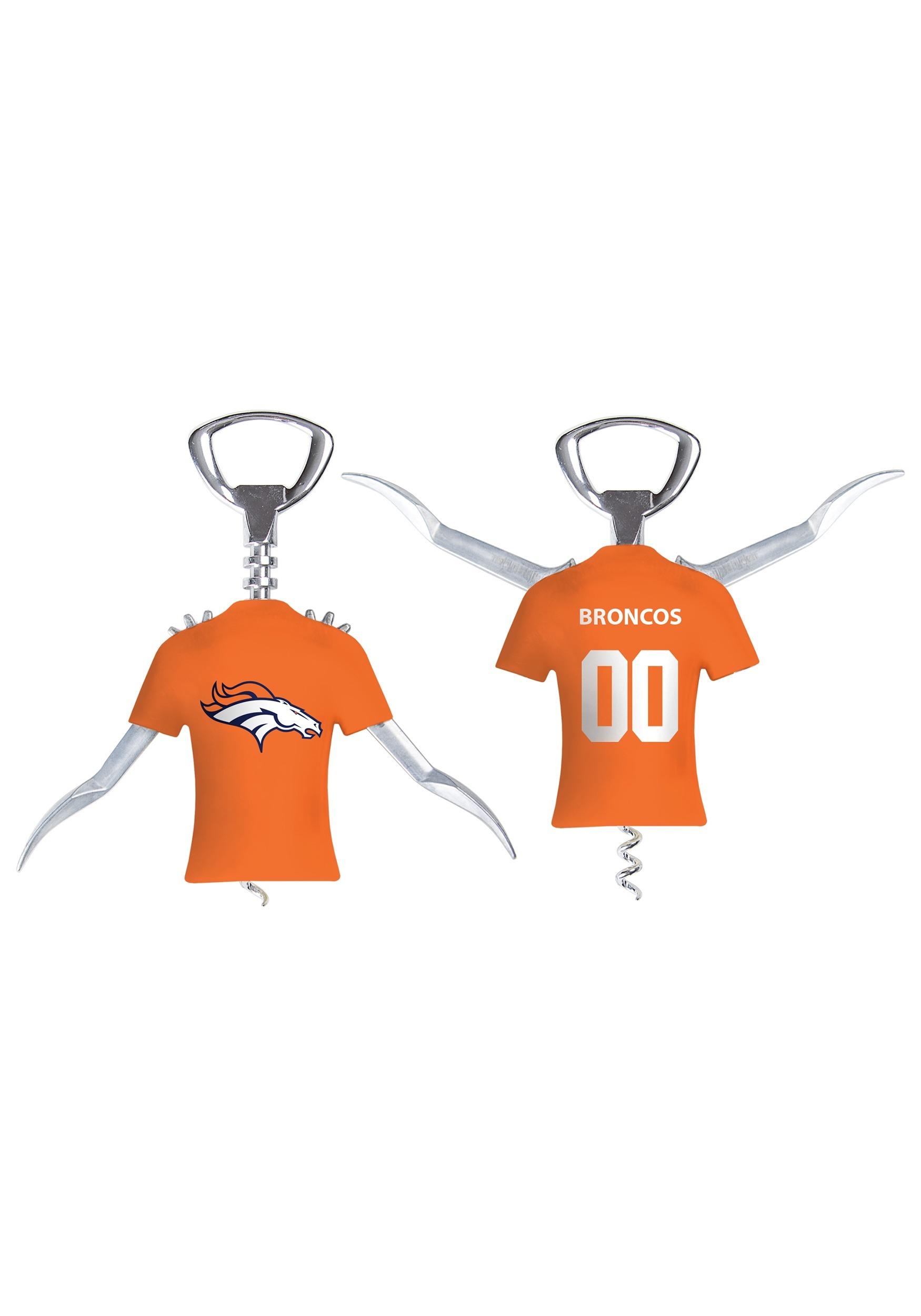 Denver Broncos NFL Winged Bottle Opener