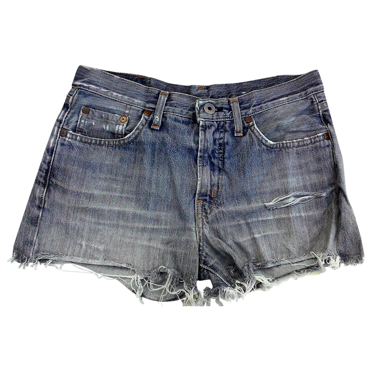 Replay \N Blue Denim - Jeans Shorts for Women M International