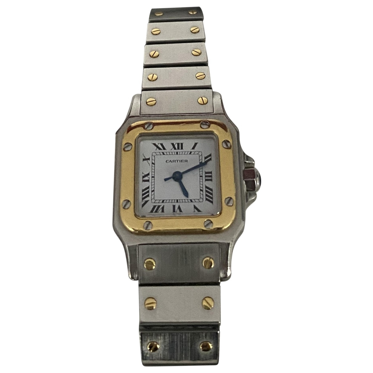 Cartier Santos Demoiselle White gold and steel watch for Women \N