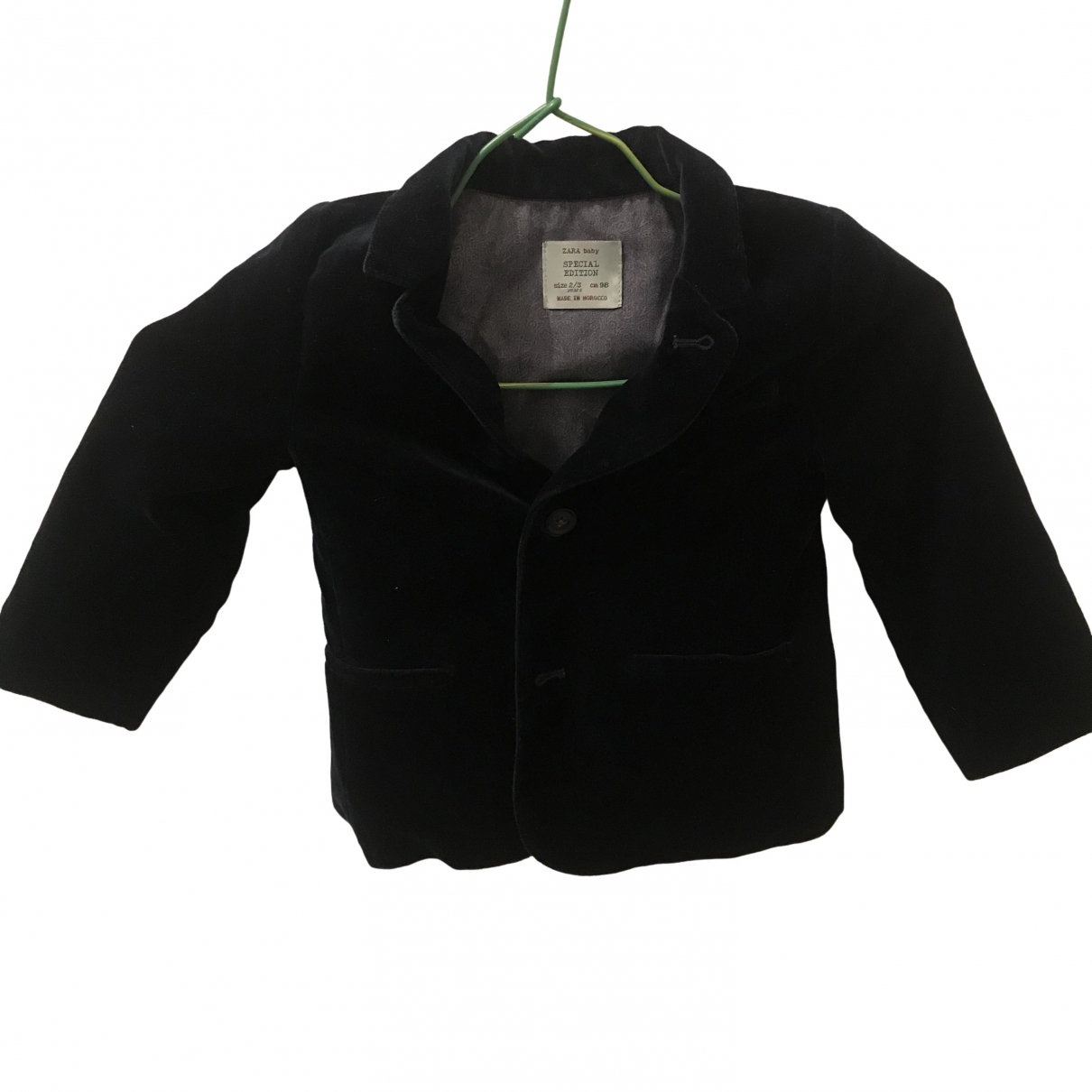 Zara \N Navy Suede Knitwear for Kids 3 years - up to 98cm FR