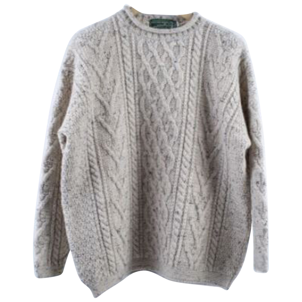Autre Marque N White Wool Knitwear for Women XL International