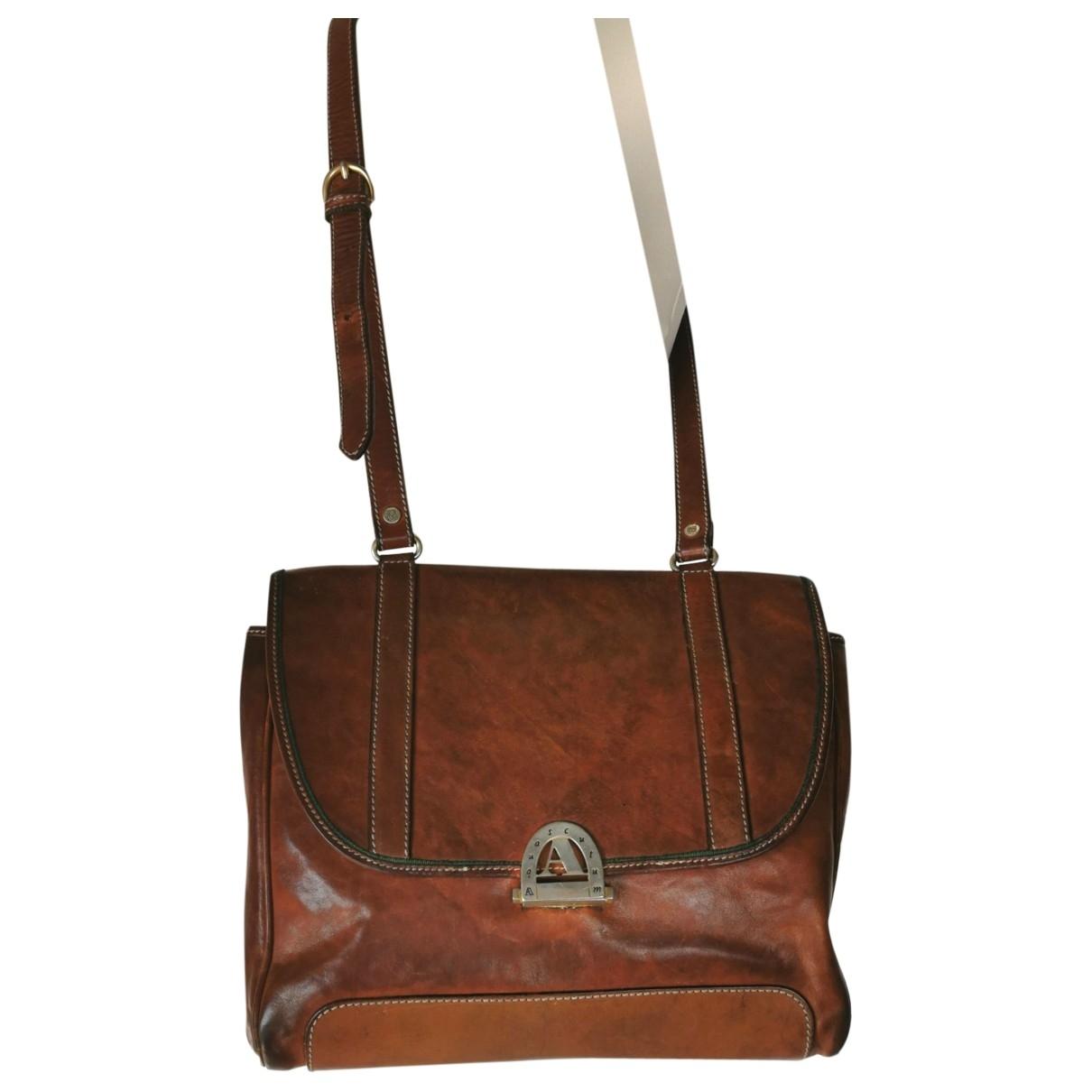 Aquascutum \N Leather handbag for Women \N