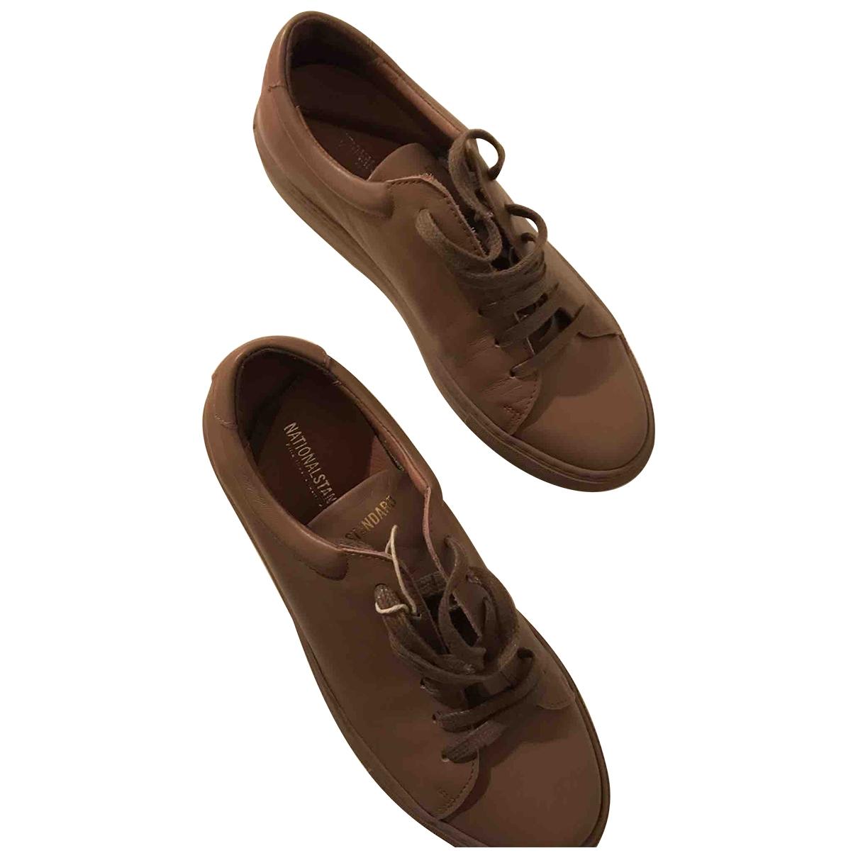 National Standard \N Sneakers in  Rosa Leder