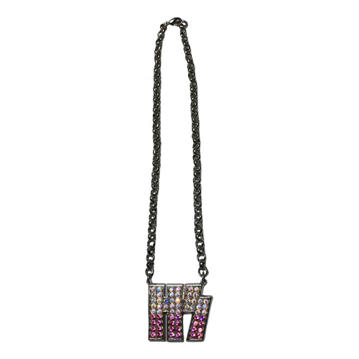 Hysteric Galmour \N Kette in  Metallic Stahl
