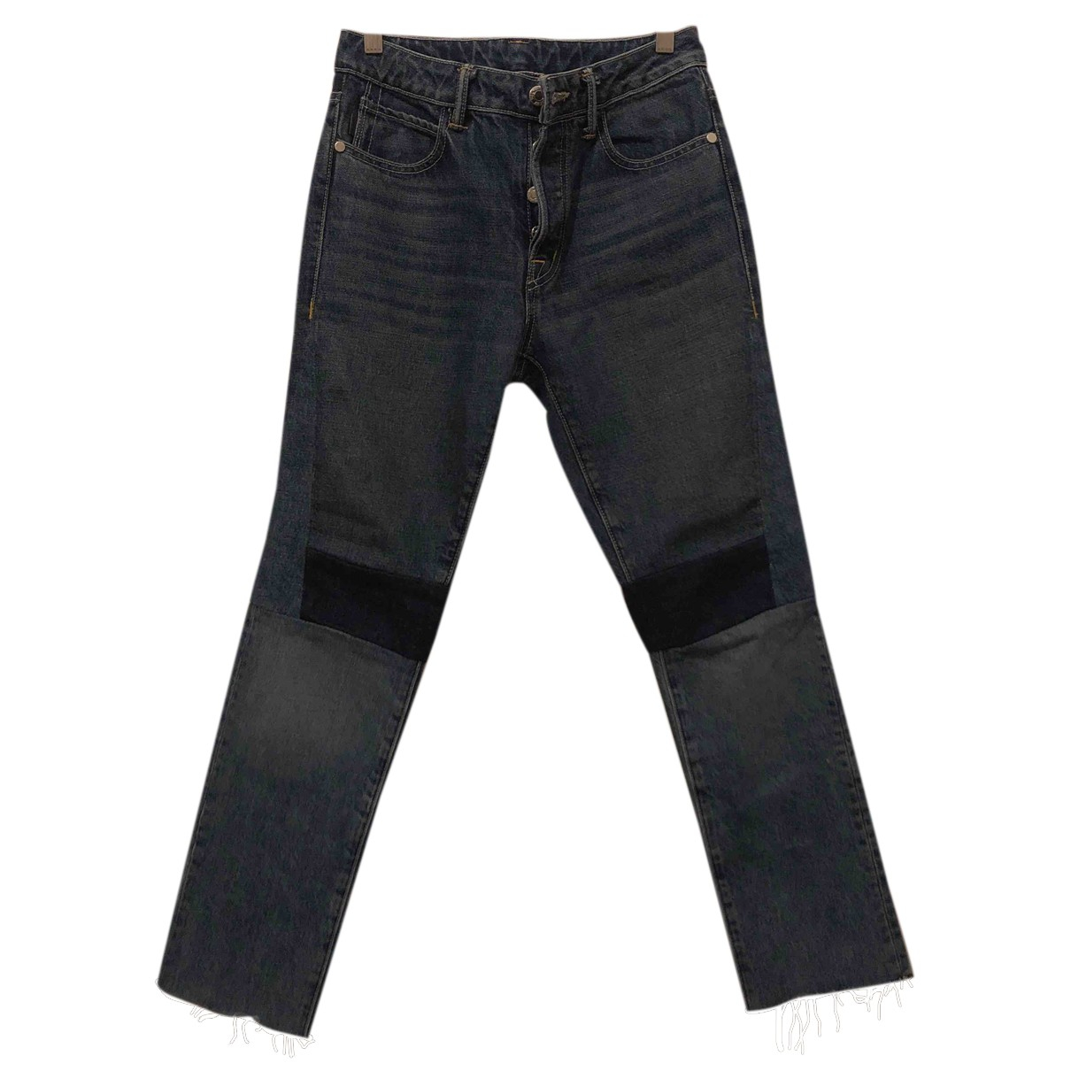 Helmut Lang N Navy Cotton Jeans for Women 25 US