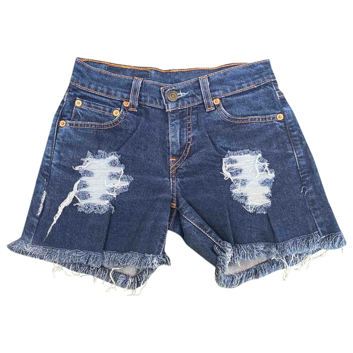 Levi's \N Blue Denim - Jeans Shorts for Women 25 US