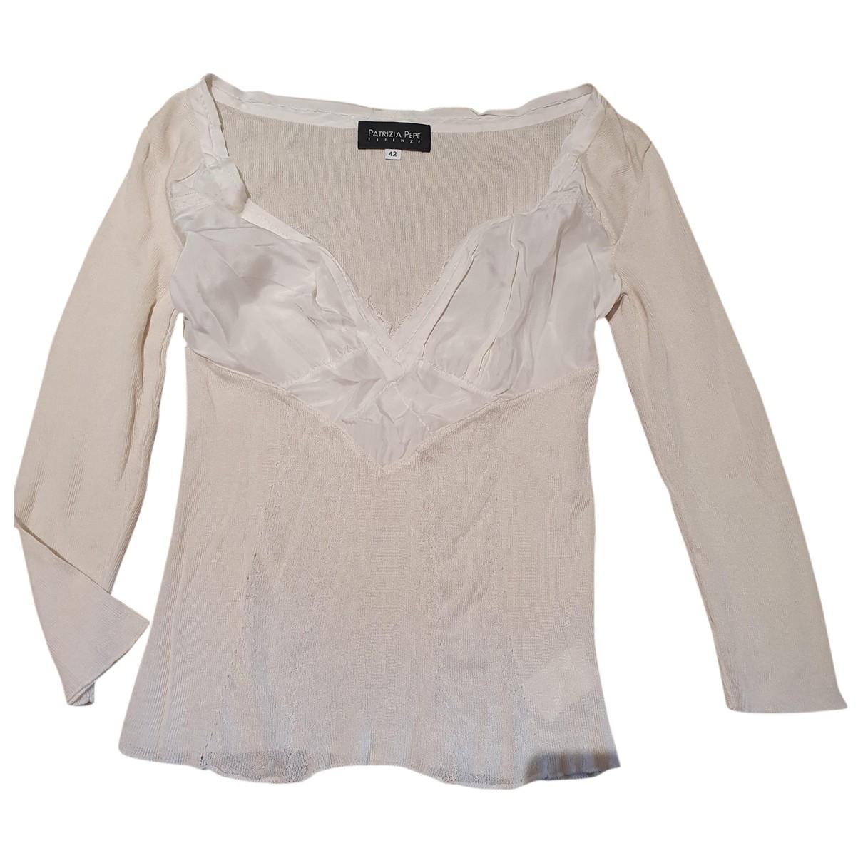 Patrizia Pepe \N Beige Silk  top for Women 42 IT