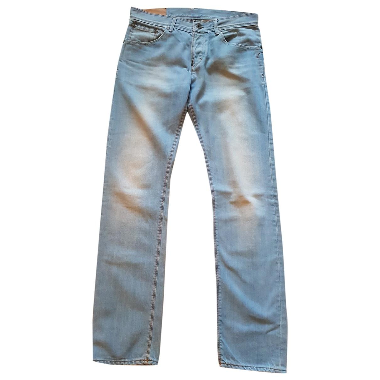Dondup \N Blue Cotton Jeans for Men 31 US