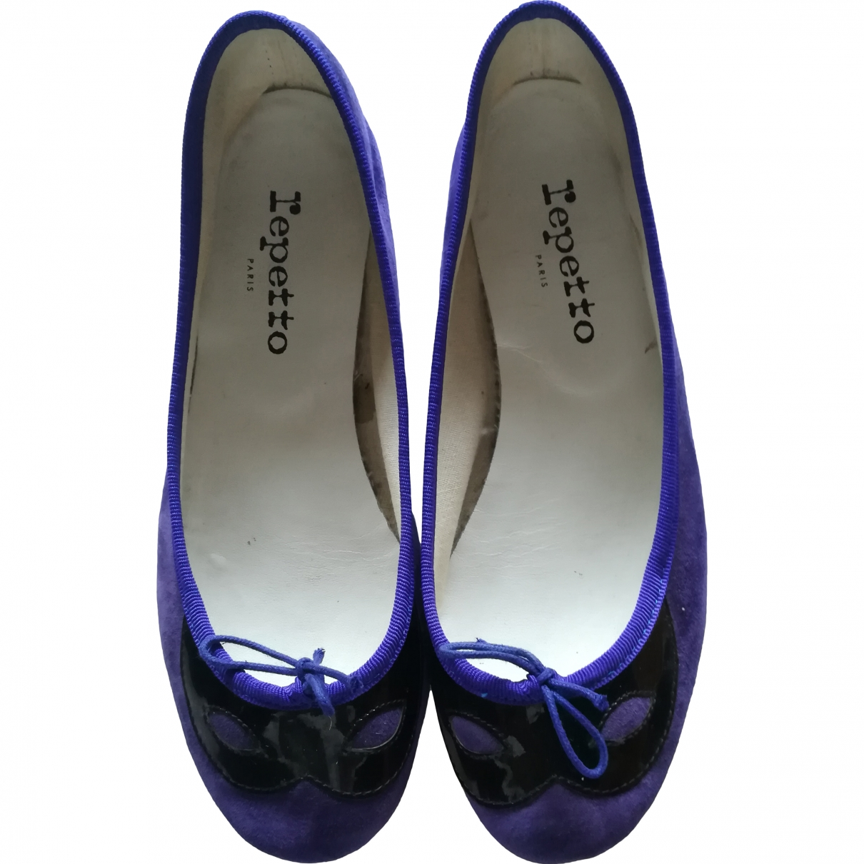 Repetto \N Purple Suede Ballet flats for Kids 37 EU