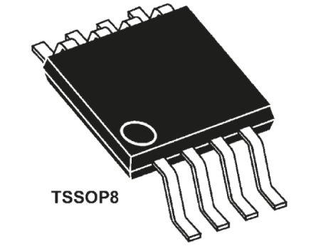 STMicroelectronics M24C64-WDW6TP, 64kbit Serial EEPROM Memory, 900ns 8-Pin TSSOP I2C (25)