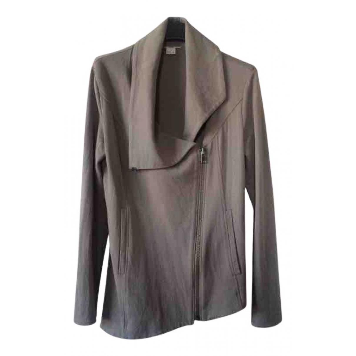 Helmut Lang - Veste   pour femme en coton - gris