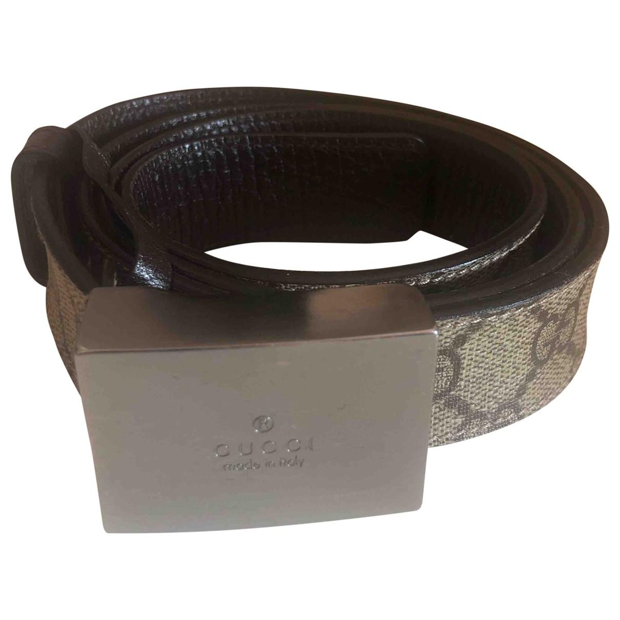 Gucci \N Brown Cloth belt for Women M International