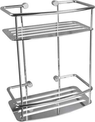 Classic M871CR Two Tier Dshape Shower Shelf 2 3/4