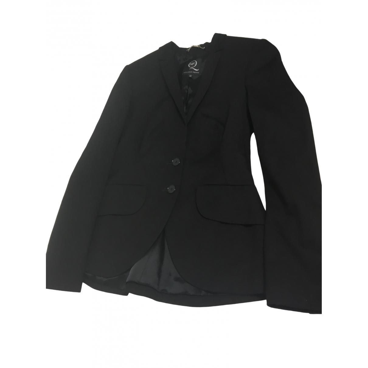 Mcq \N Black jacket for Women 42 IT