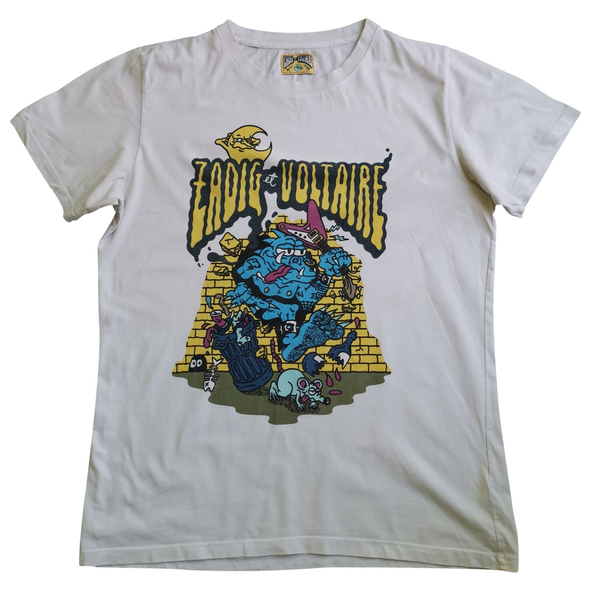 Zadig & Voltaire \N White Cotton T-shirts for Men XL International