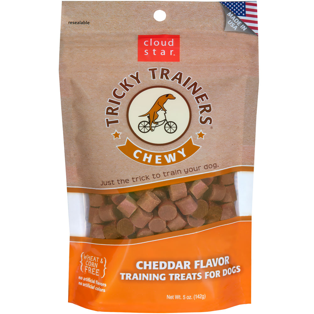 Cloud Star Chewy Tricky Trainers - Cheddar (5 oz)