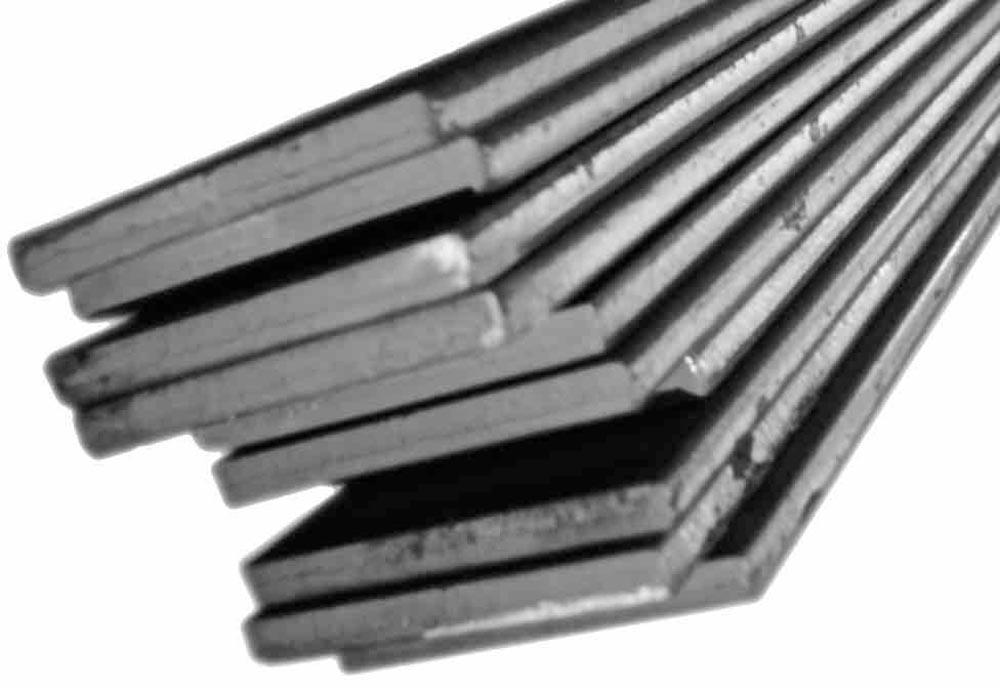 Steinjager J0002099 Bar, Flat Flat Bar Cut-to-Length 0.375 x 0.750 12 Inch Lengths