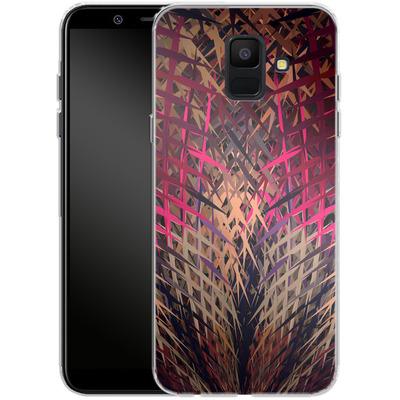 Samsung Galaxy A6 Silikon Handyhuelle - Grid Explosion von Danny Ivan
