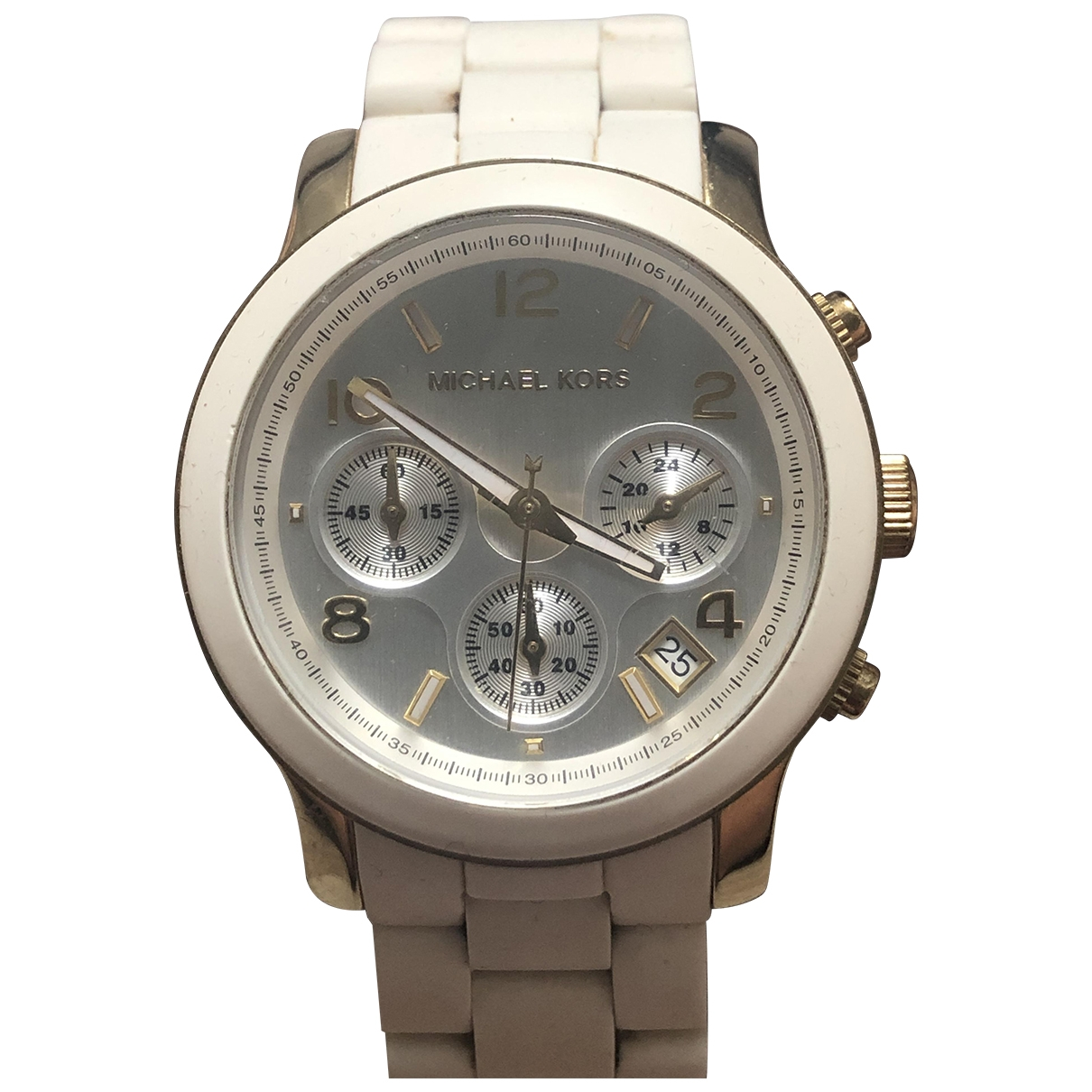 Michael Kors \N White Steel watch for Women \N
