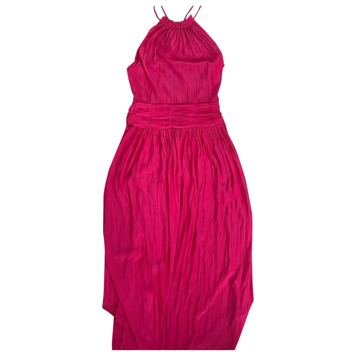 Ramy Brook \N Kleid in  Rosa Seide