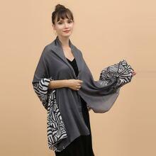 Schal mit Zebra Muster