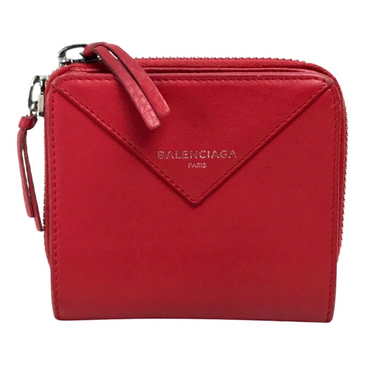 Balenciaga - Portefeuille   pour femme en cuir