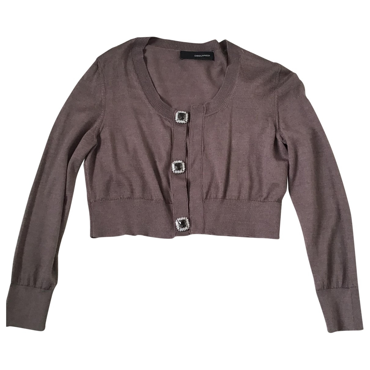 Dsquared2 \N Pullover in  Khaki Wolle