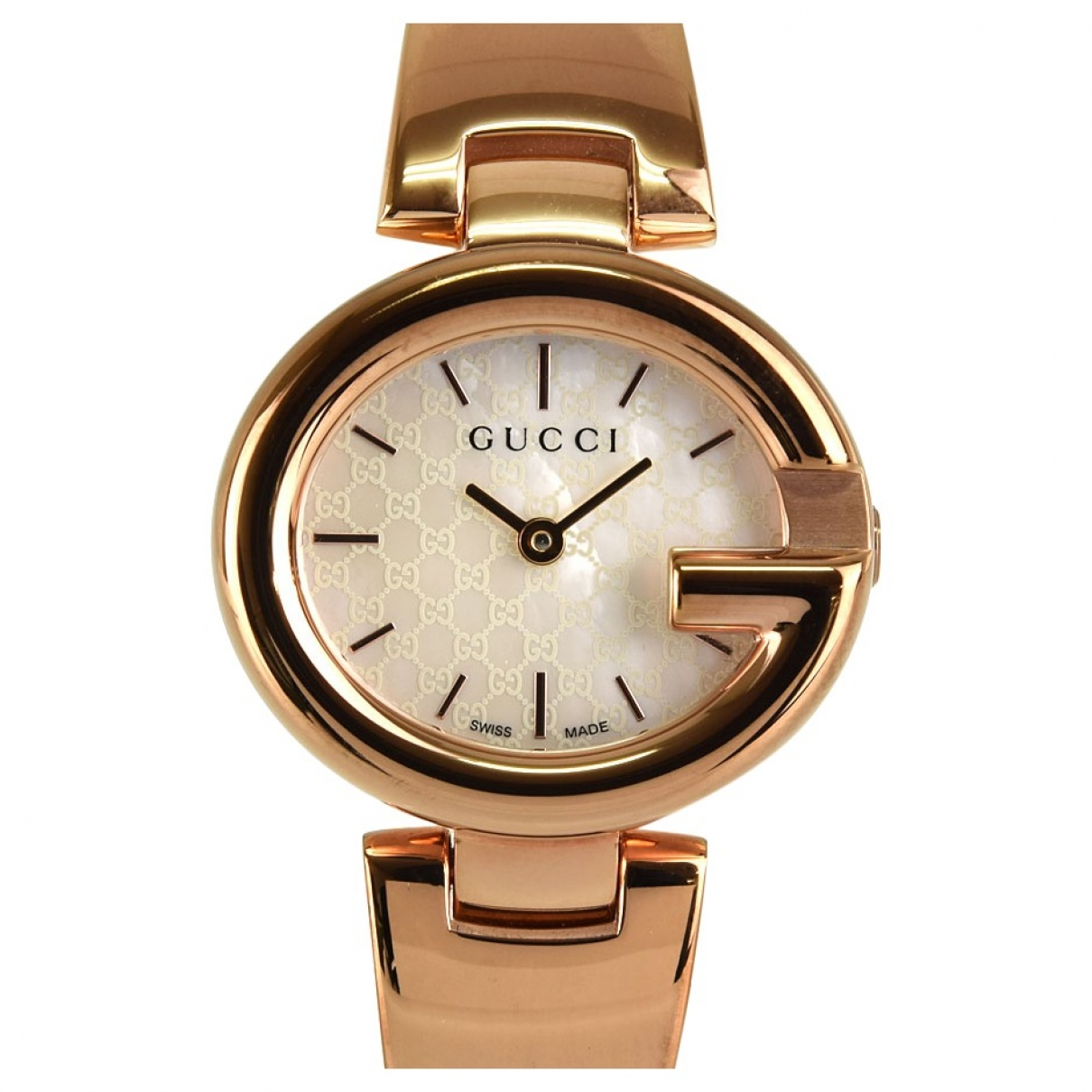 Gucci G-Timeless Uhr in  Weiss Stahl