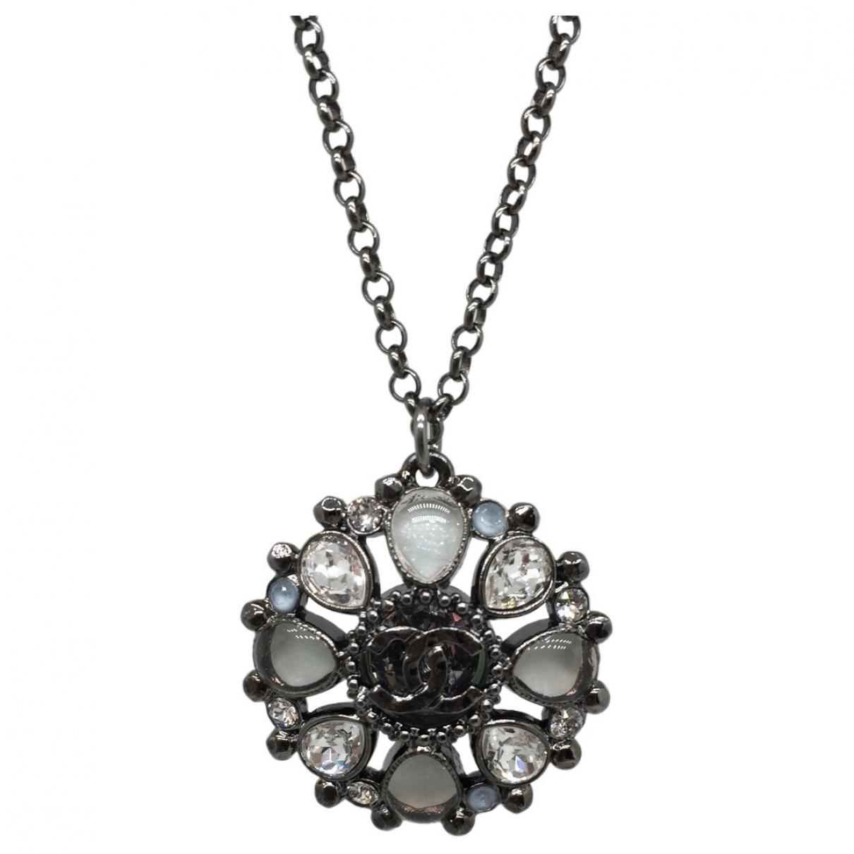Chanel - Sautoir   pour femme en metal - metallise