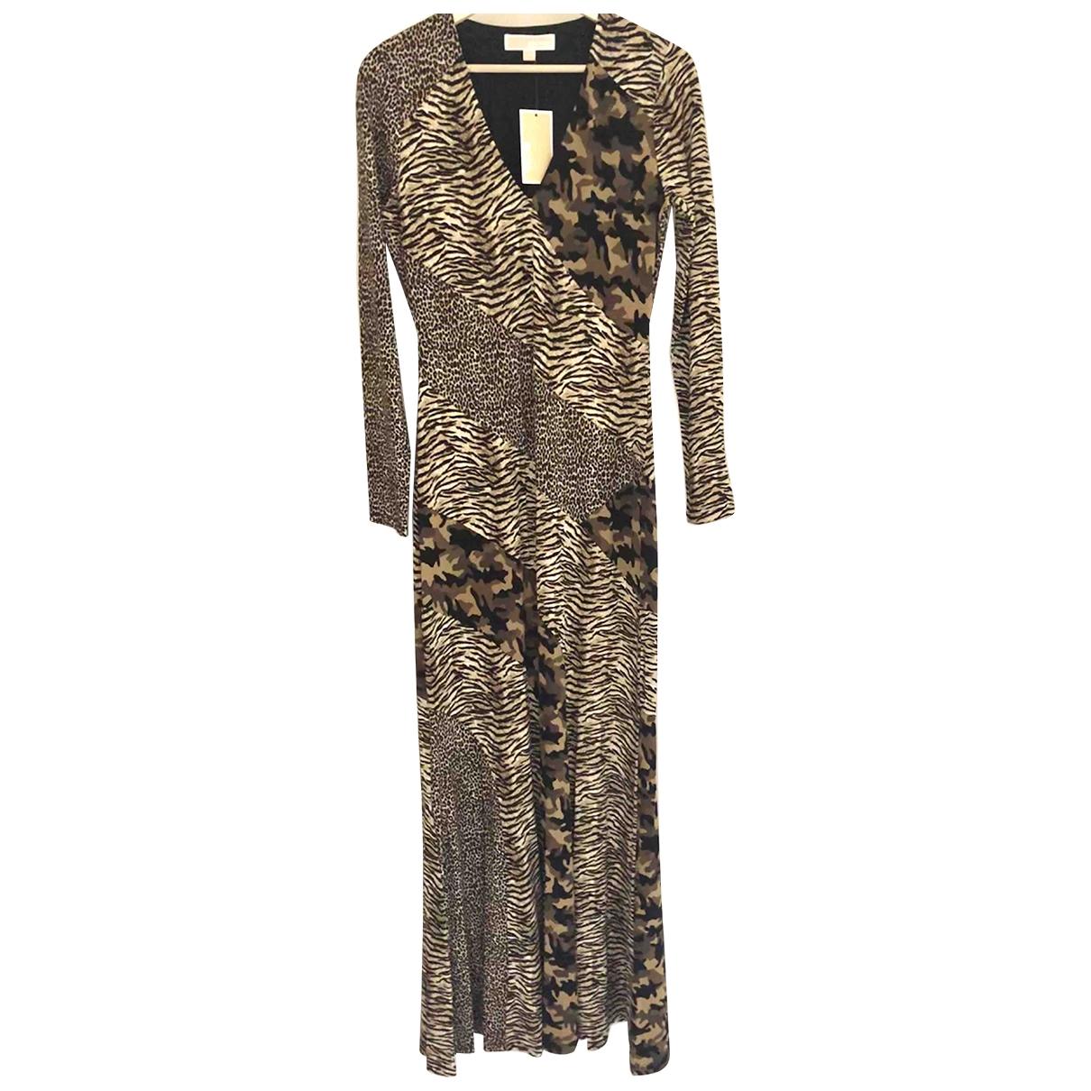 Michael Kors \N Kleid in  Braun Polyester