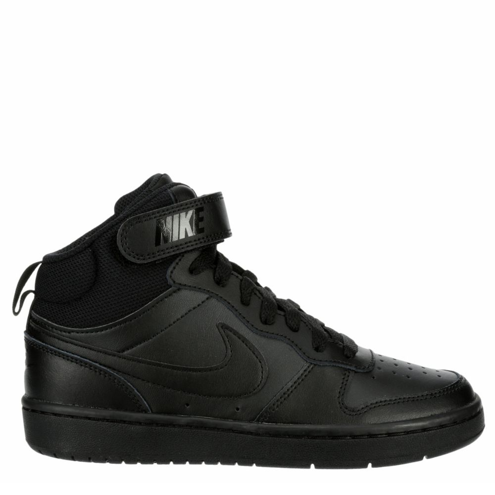 Nike Boys Court Borough Mid 2 Shoes Sneakers