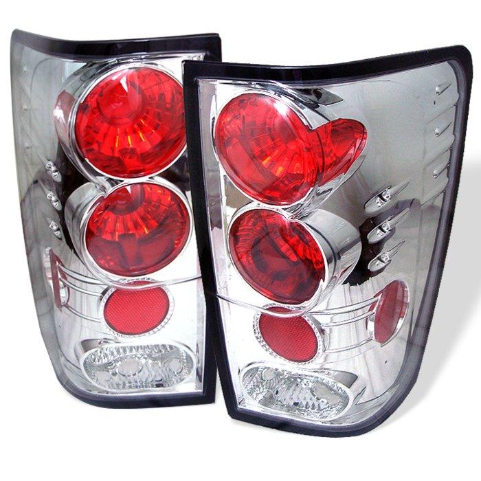 Spyder Altezza Chrome Tail Lights Nissan Titan 04-11
