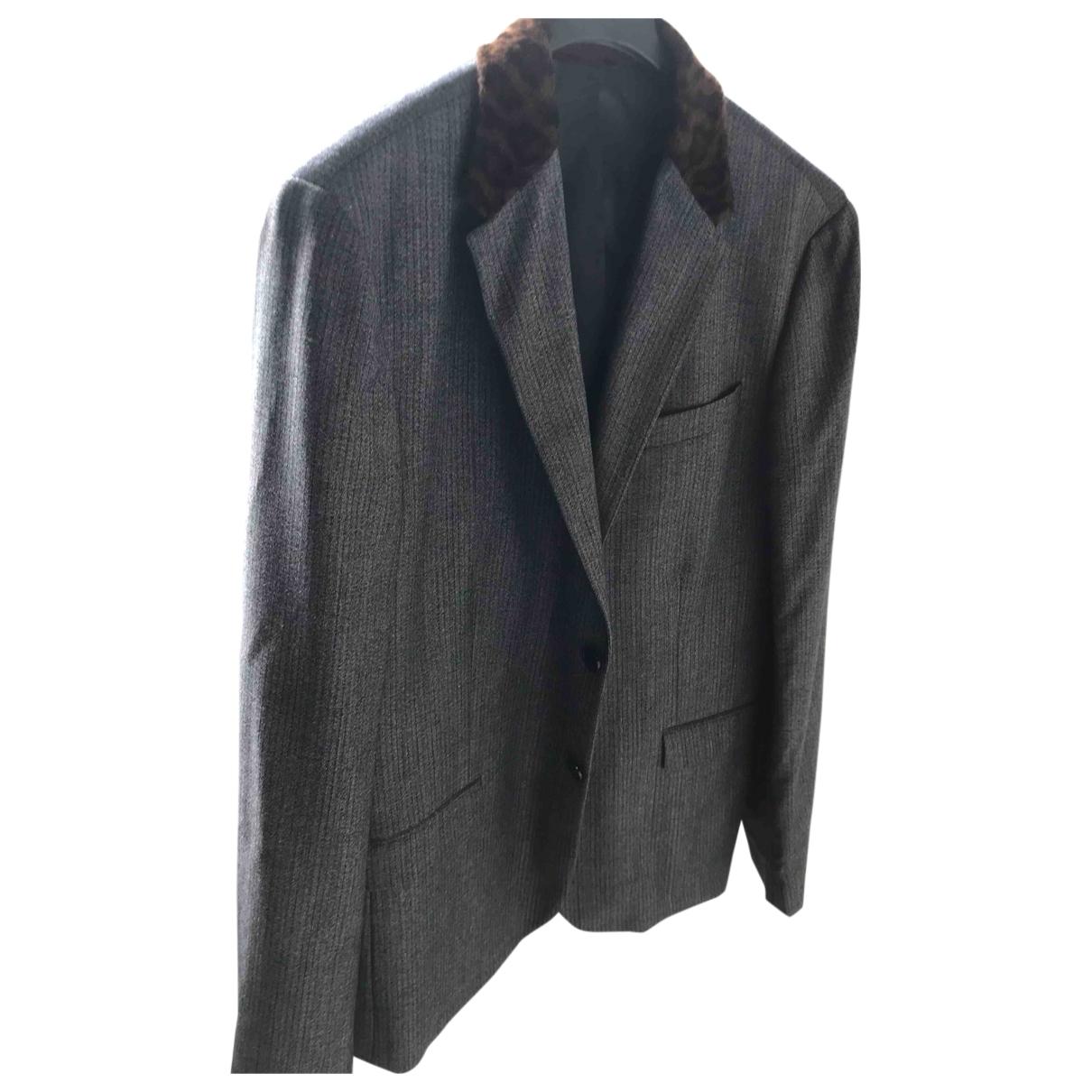 Paul Smith \N Grey Wool jacket  for Men 50 IT