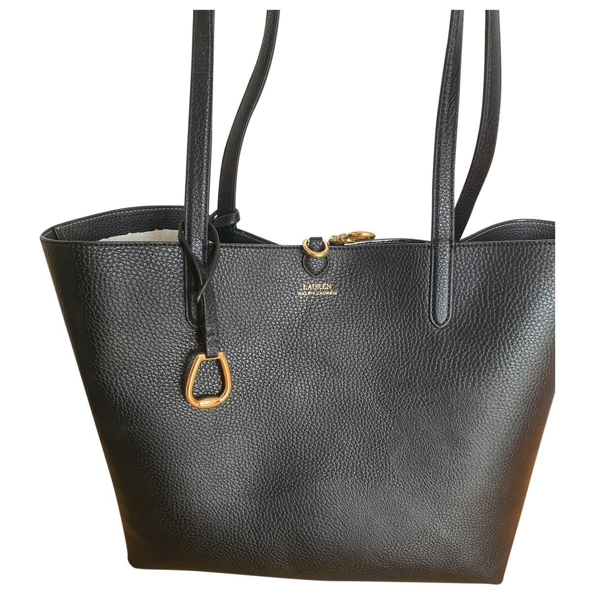 Lauren Ralph Lauren \N Black handbag for Women \N
