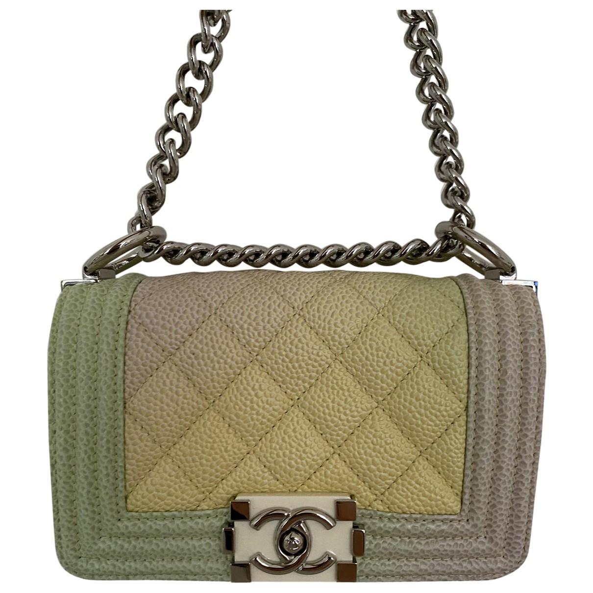 Chanel Boy Multicolour Leather handbag for Women N