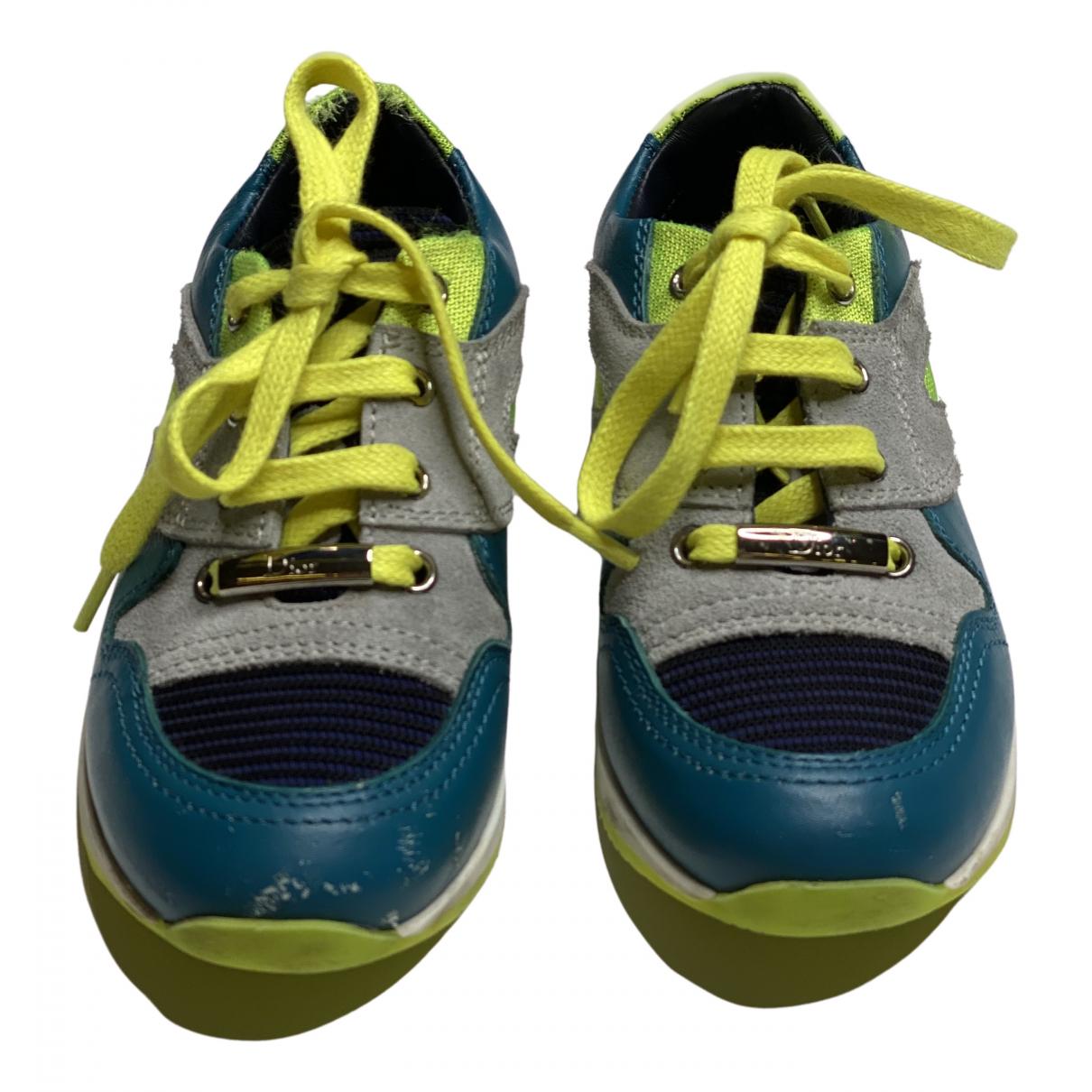 Dior \N Sneakers in  Bunt Leder