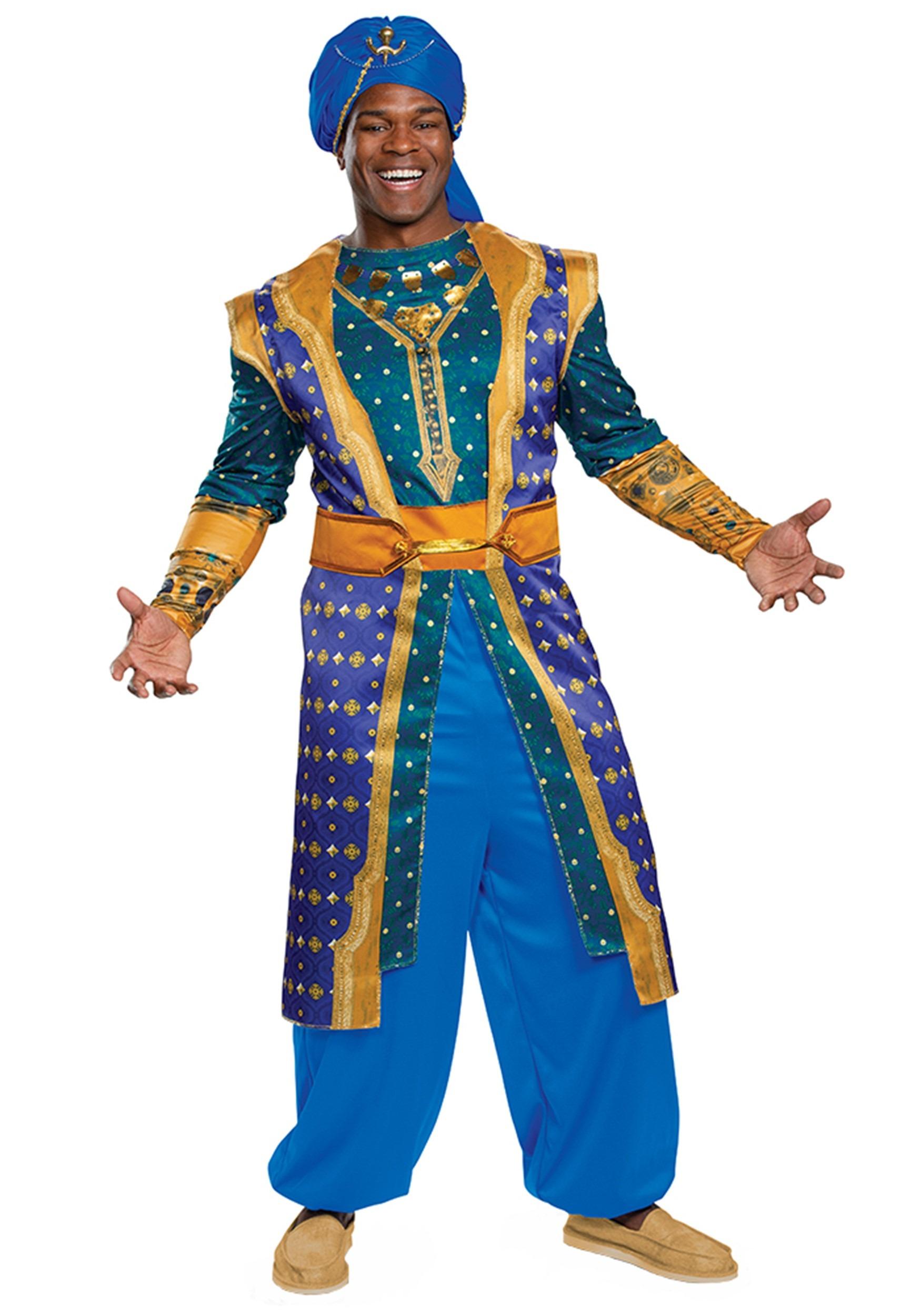 The Aladdin Live Action Adult Genie Costume