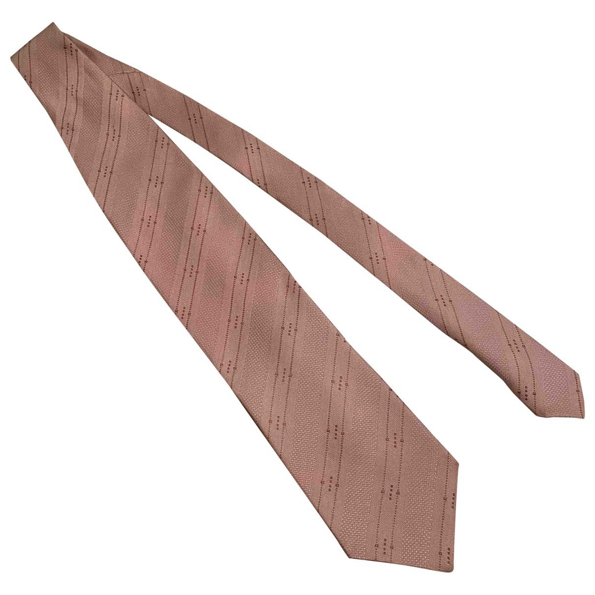 Giorgio Armani - Cravates   pour homme en soie - rose