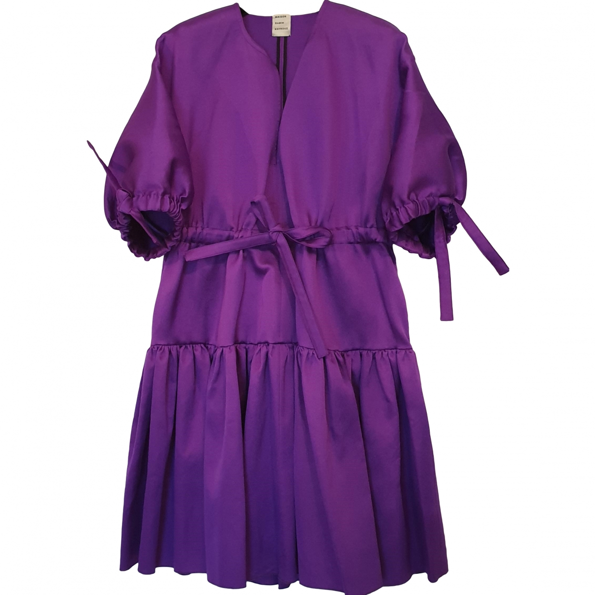 Maison Rabih Kayrouz \N Purple dress for Women 38 FR