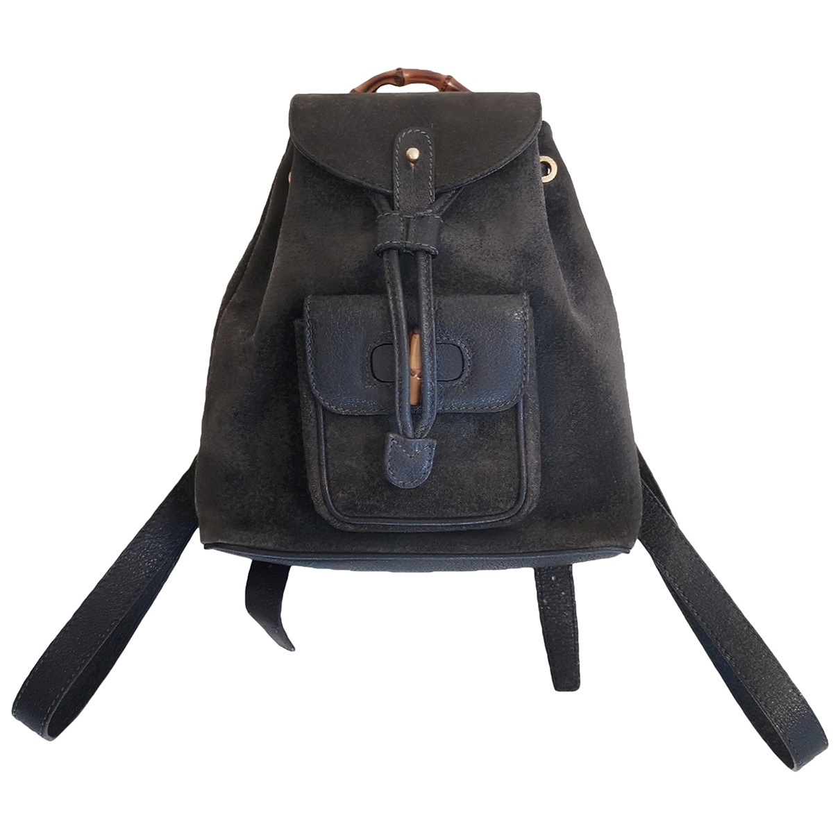 Gucci \N Navy Suede backpack for Women \N