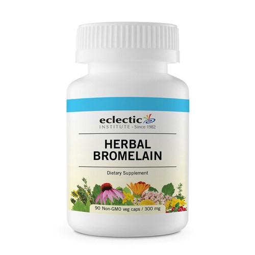 Herbal Bromelain 90 Caps by Eclectic Institute Inc