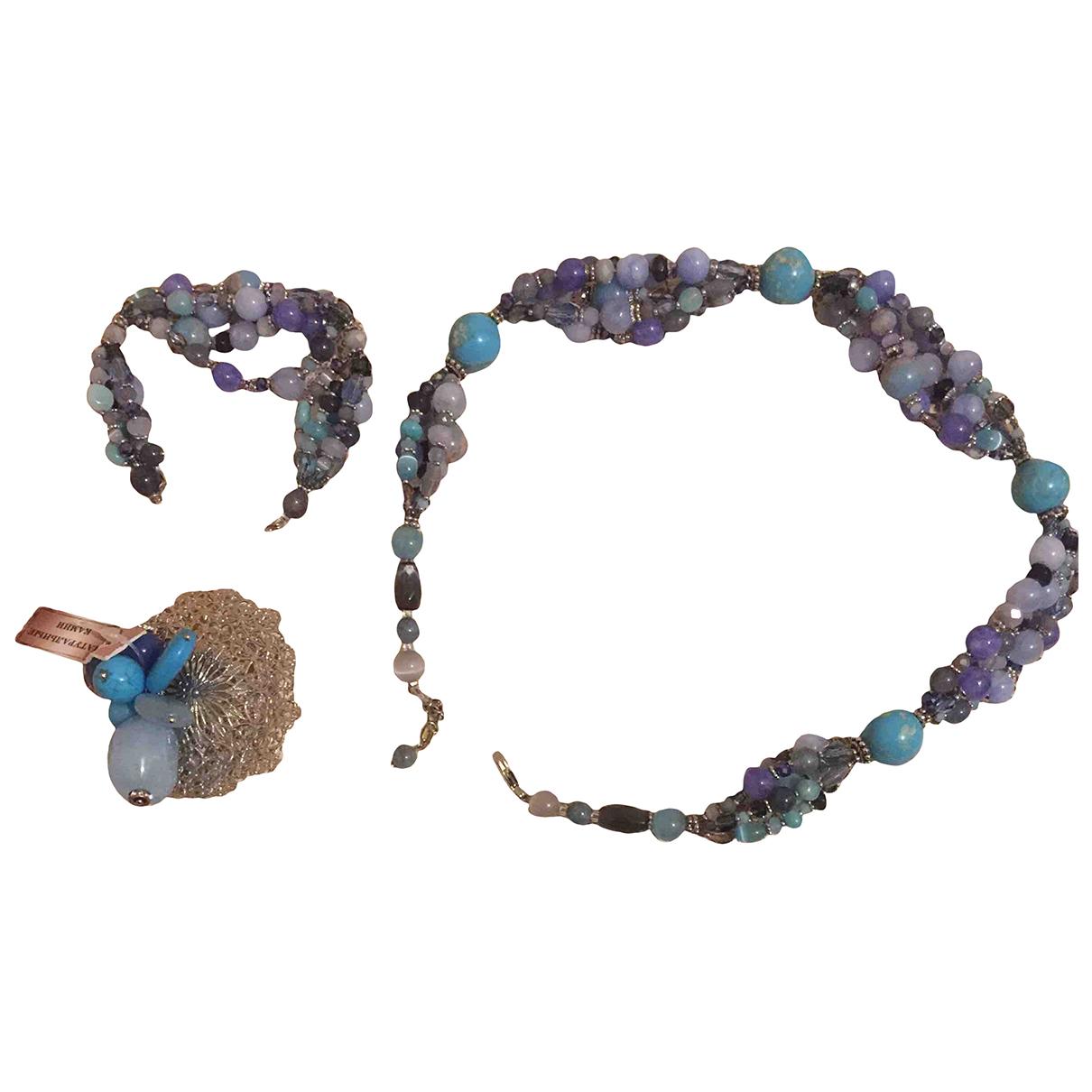 - Parure Turquoises pour femme en verre - multicolore