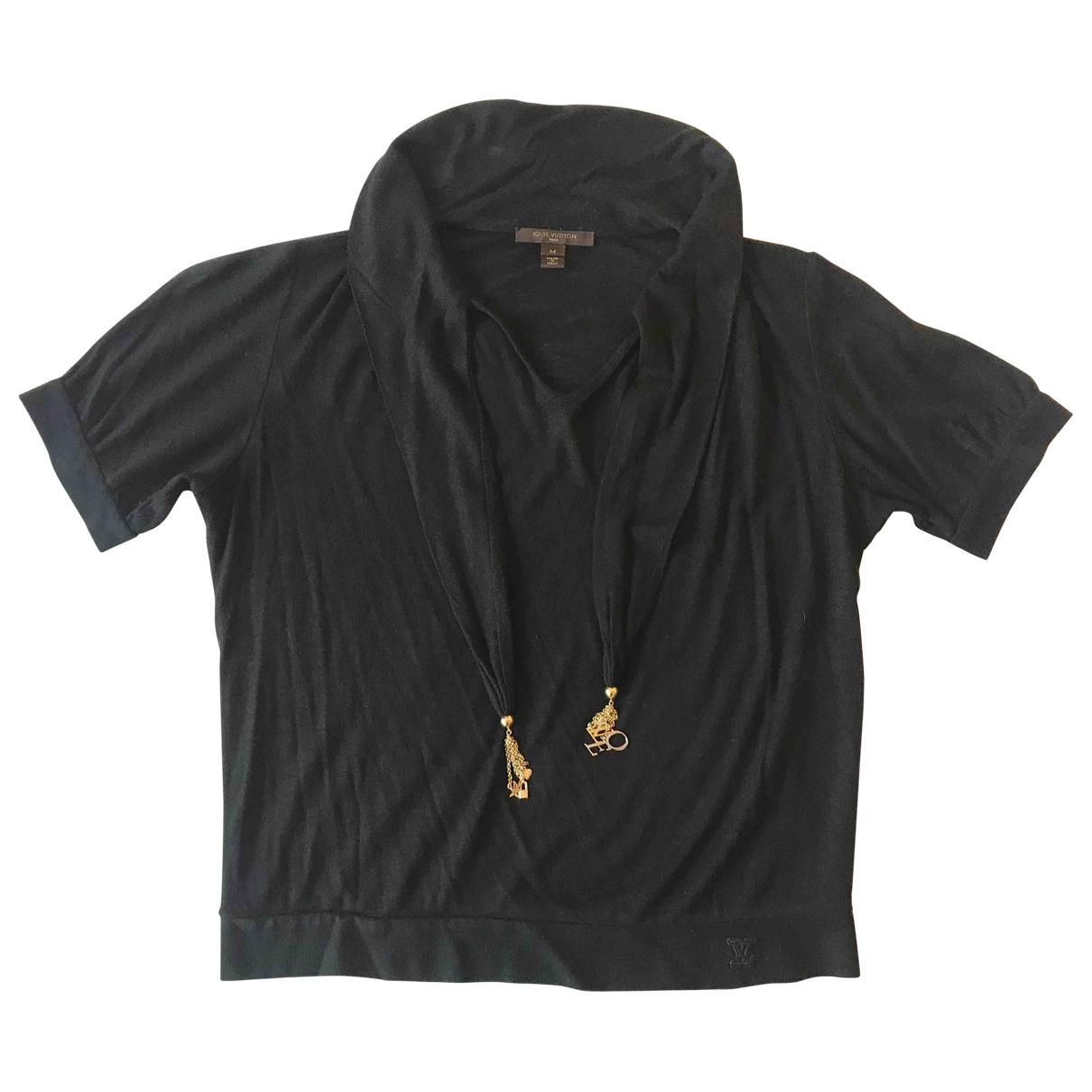 Louis Vuitton - Top   pour femme en laine - noir