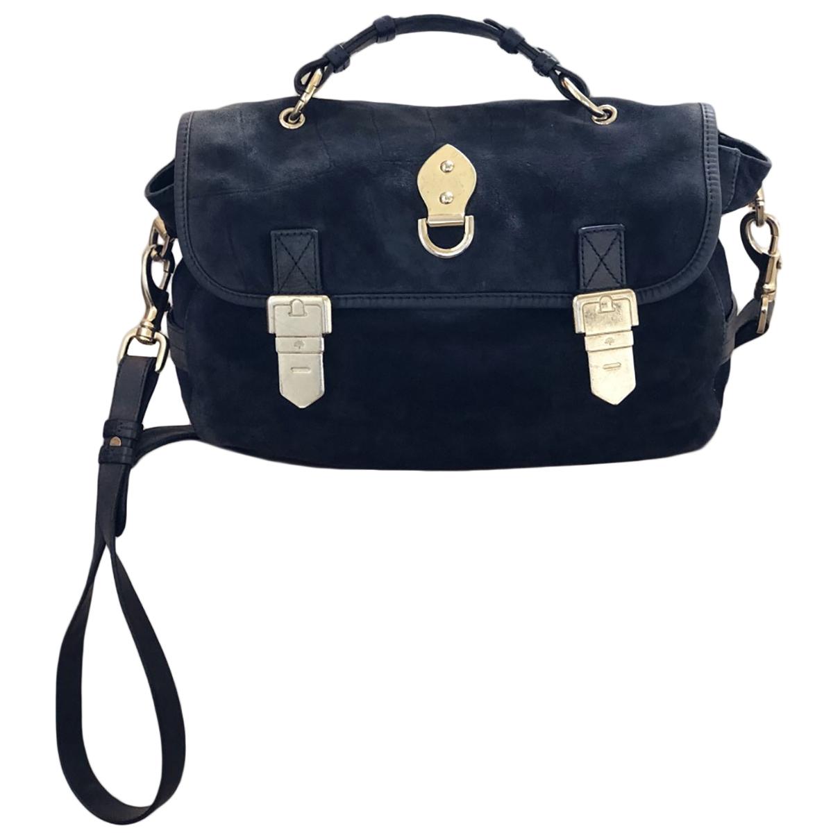 Mulberry \N Blue Suede handbag for Women \N