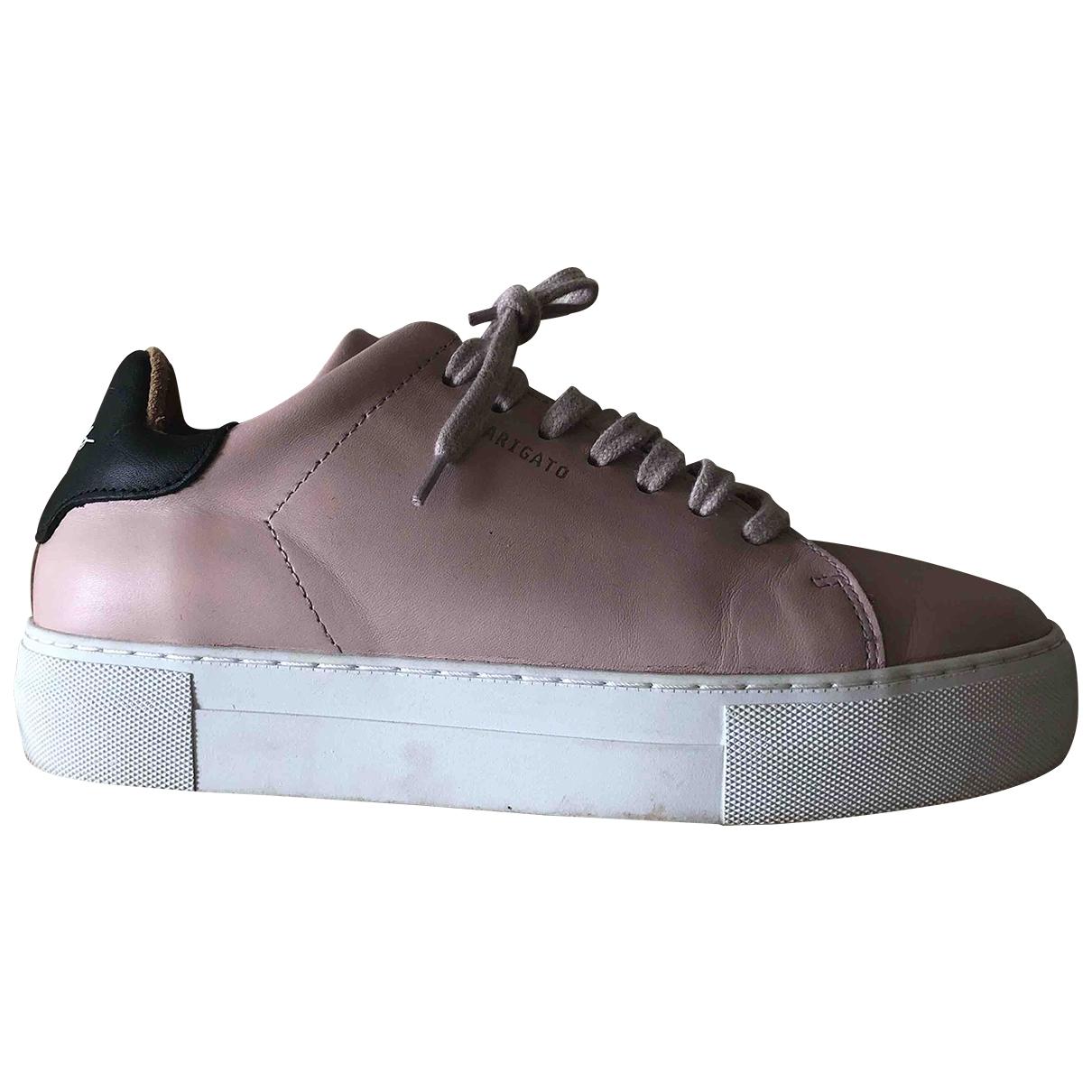 Axel Arigato - Baskets   pour femme en cuir - rose