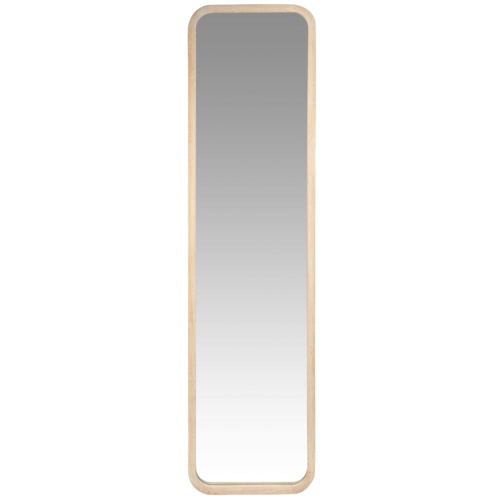 Standspiegel mit Rahmen aus Paulownienholz 41x160