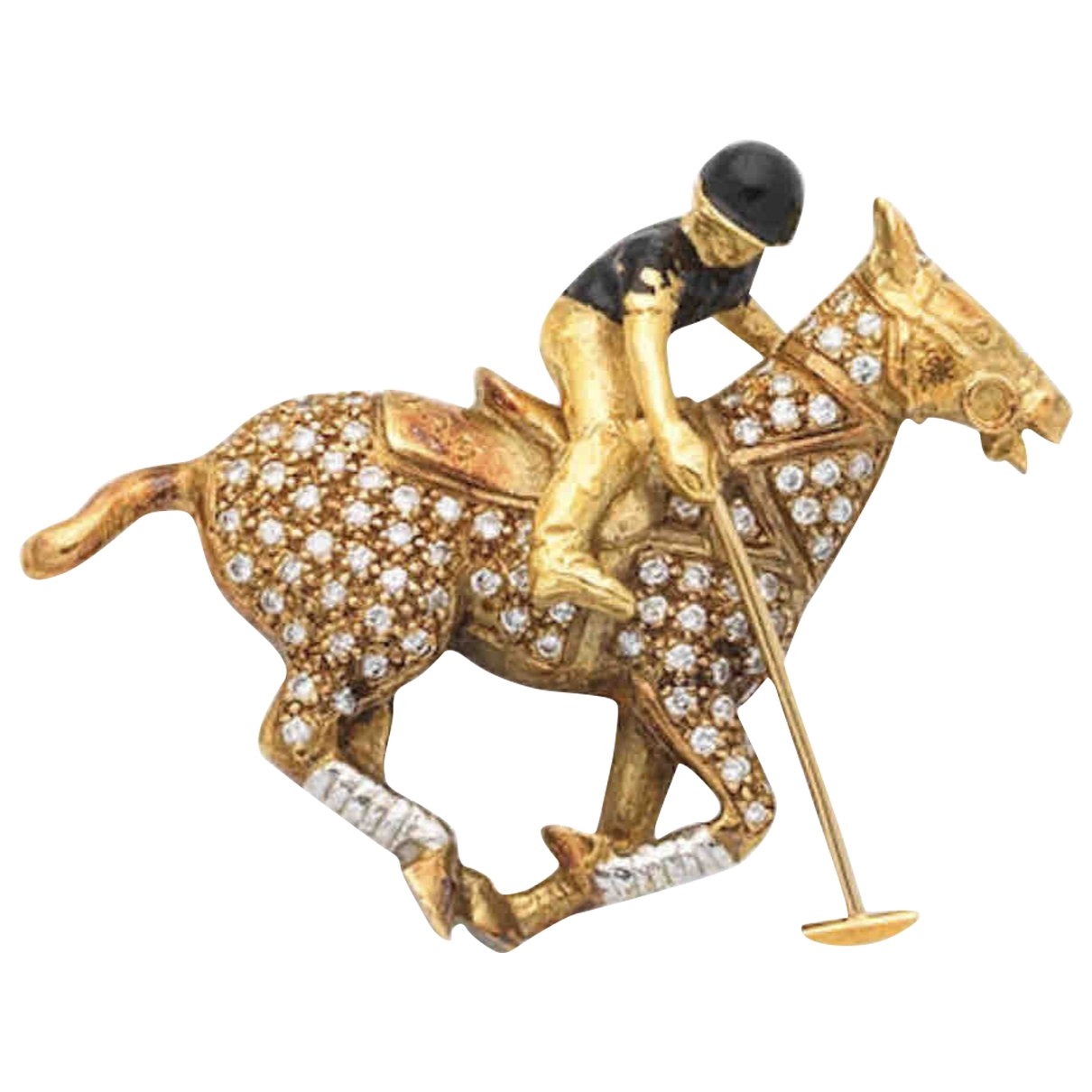 Broche de Oro amarillo Theo Fennell