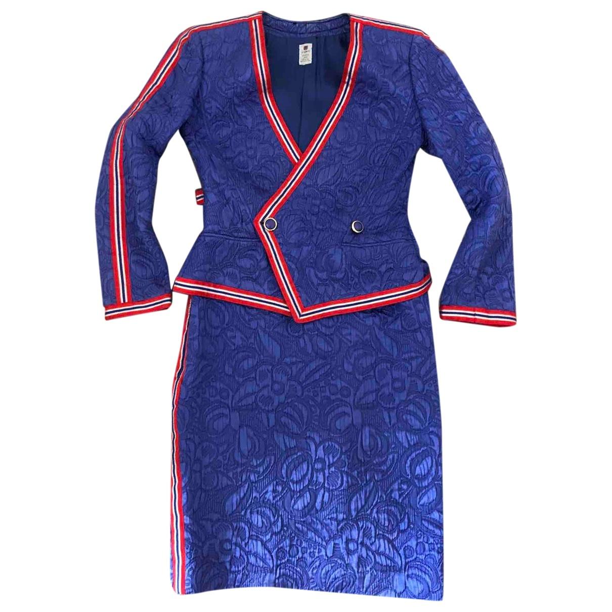 Emanuel Ungaro \N Purple Silk dress for Women 42 IT